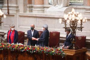 Cerimónia de Tomada de Posse na Assembleia da República